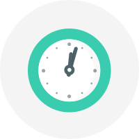 gym·up icon clock time