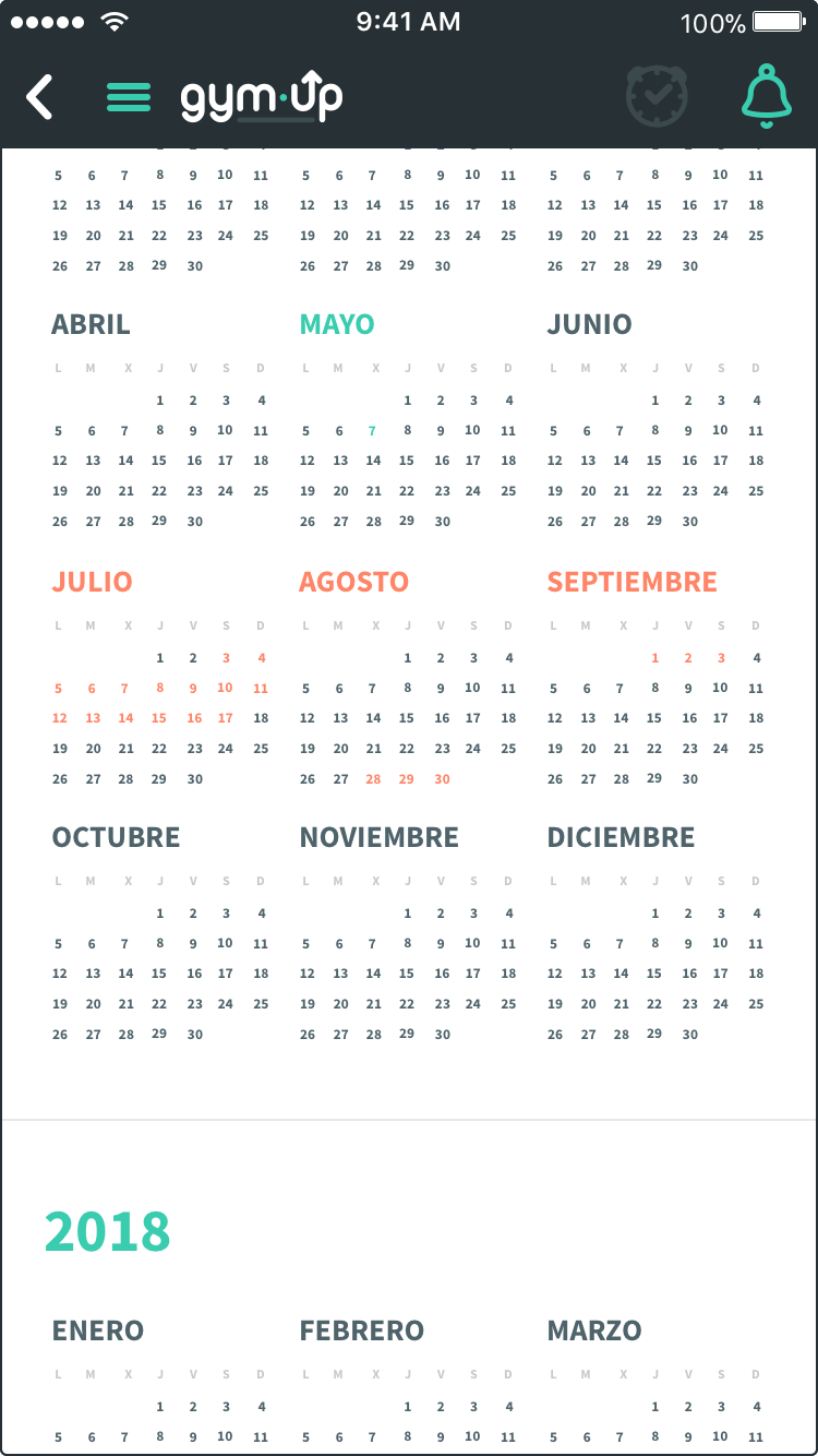 detalle calendario